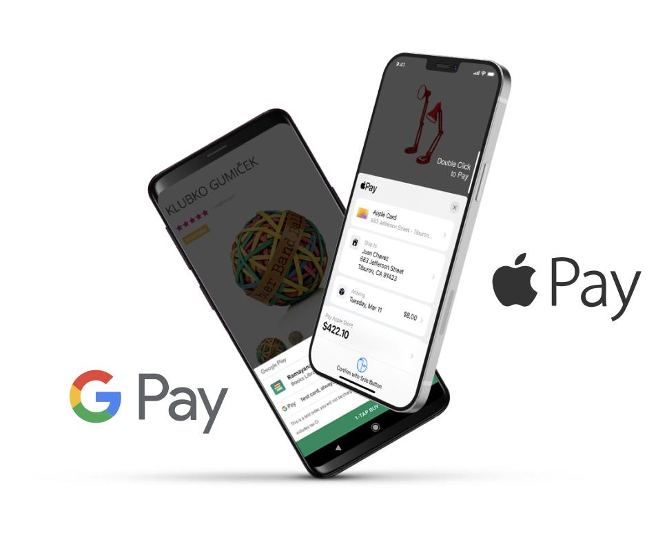 Jediná brána, která myslí na Apple Pay a Google Pay